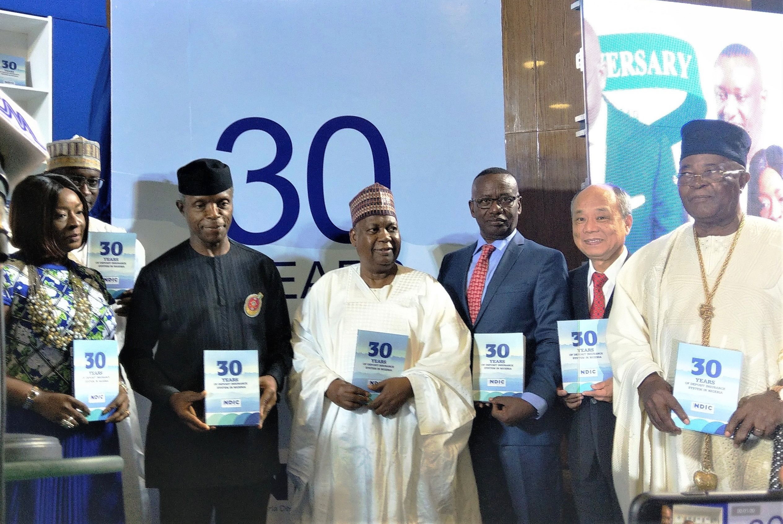 CDIC Chairman Michael Lin led a delegation to attend the 30th Anniversary of the Nigeria Deposit Insurance Corporation (NDIC) and delivered a remark in mid-October 2019