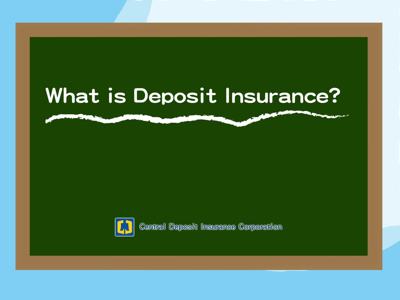 Deposit Insurance Educational Animation (2014)